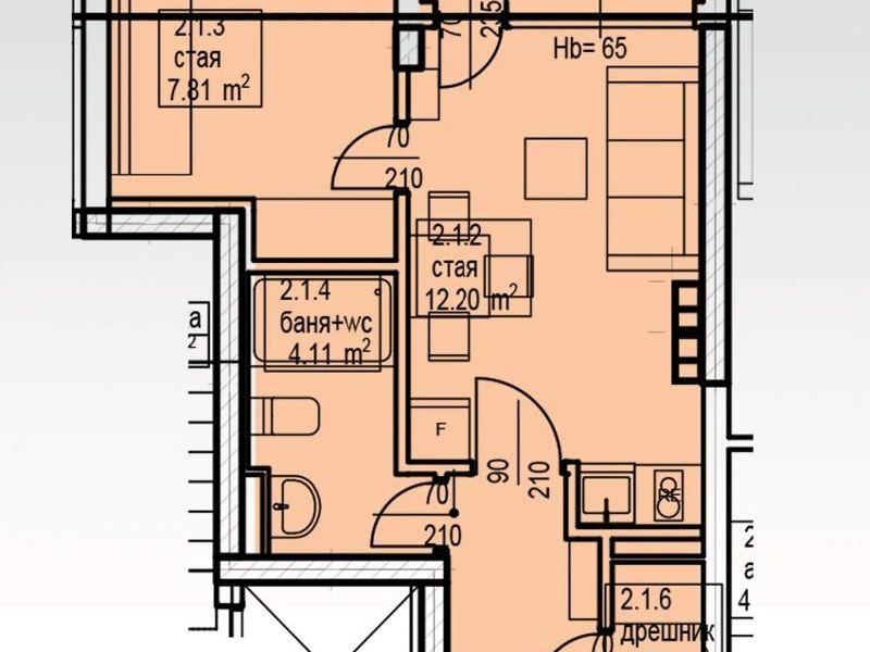 двустаен апартамент софия 4bx9ndxy