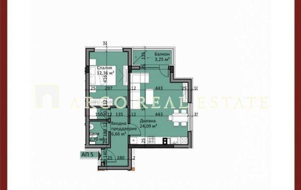 двустаен апартамент софия 53pbveps