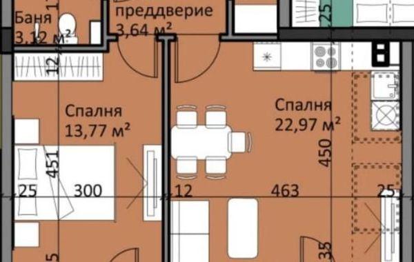 двустаен апартамент софия 56jj1rvg