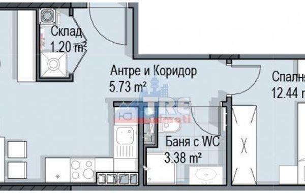 двустаен апартамент софия 5dl9kd6k