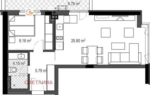 двустаен апартамент софия 5gqmkksn