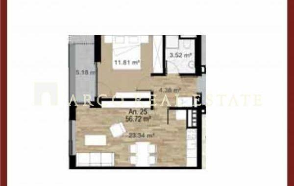 двустаен апартамент софия 5j84tp43