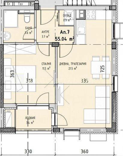 двустаен апартамент софия 5rj1tfnu
