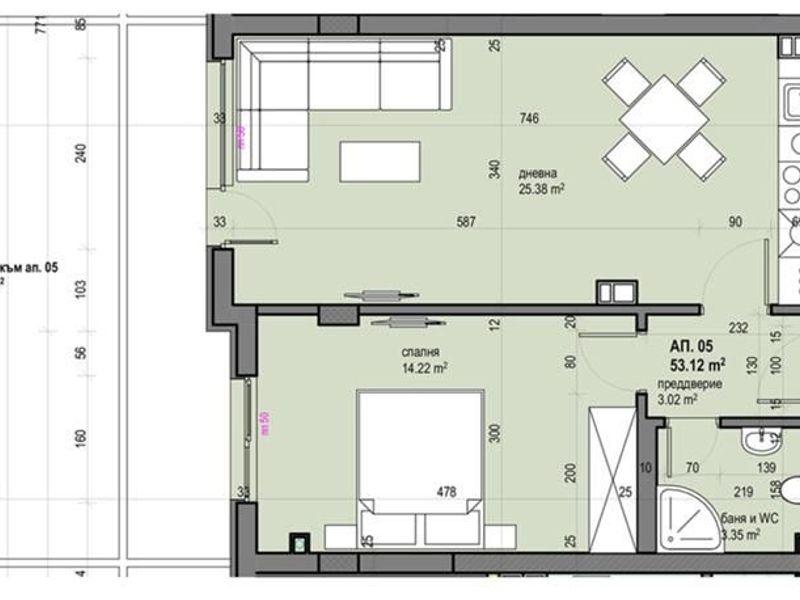 двустаен апартамент софия 6f21jpk9