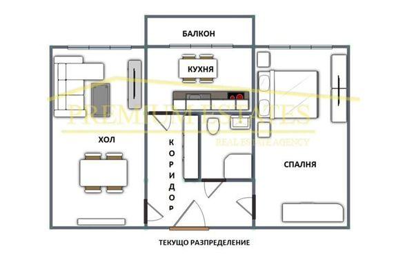 двустаен апартамент софия 6kt2n2fm