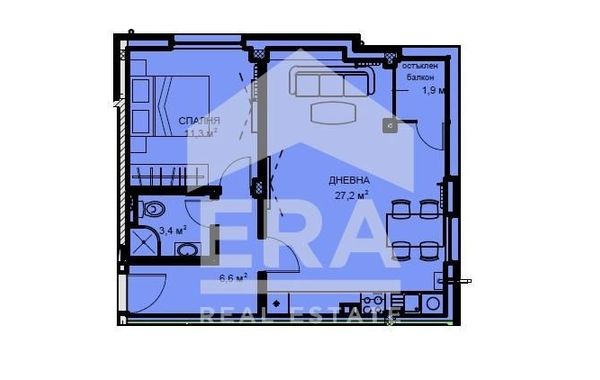 двустаен апартамент софия 74ayjfdr