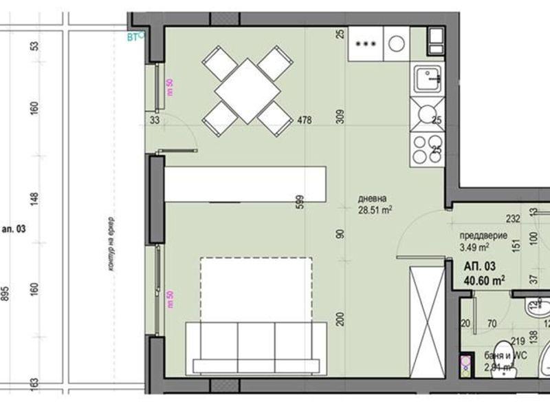 двустаен апартамент софия 77rep8gn