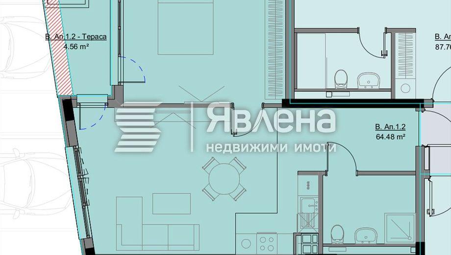 двустаен апартамент софия 7dl8tyy1