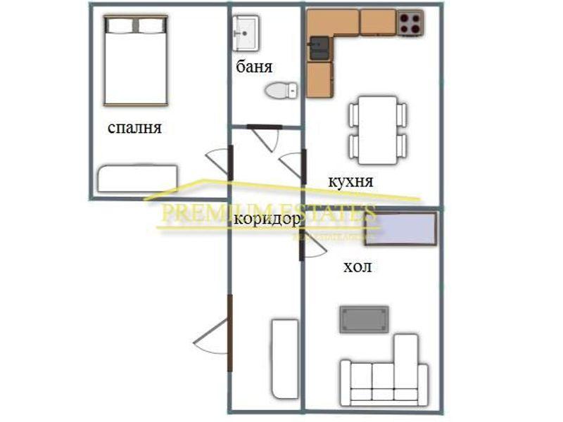 двустаен апартамент софия 7f3q5j63