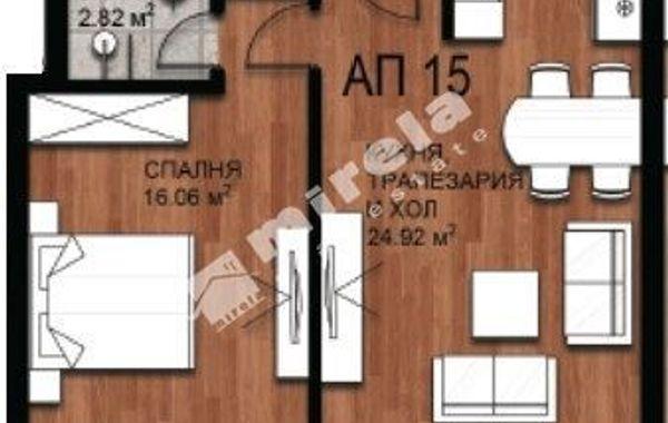 двустаен апартамент софия 7k541ly1