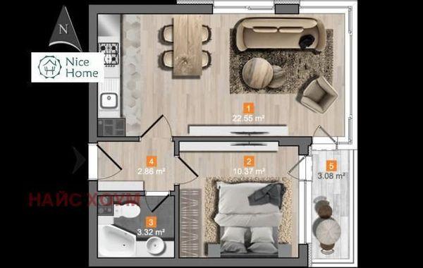 двустаен апартамент софия 85wcc7mc