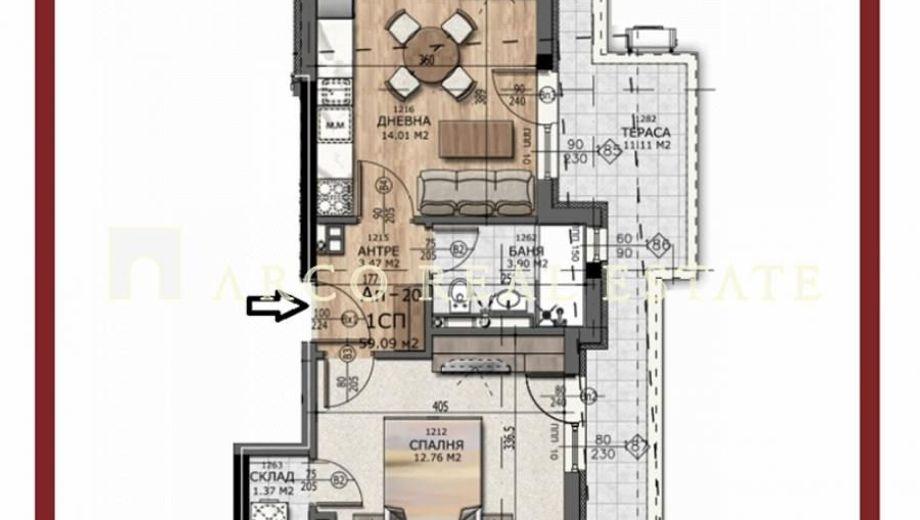 двустаен апартамент софия 89peqbxr