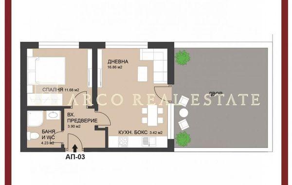 двустаен апартамент софия 8lb4nlpr