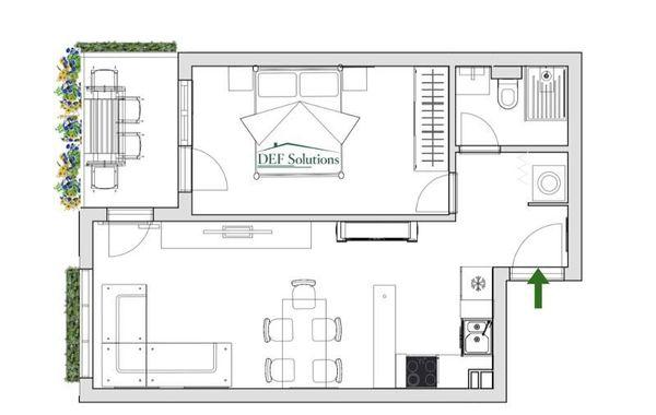 двустаен апартамент софия 8p1bftpv
