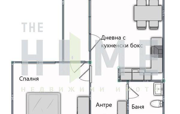 двустаен апартамент софия 8qcr42ks