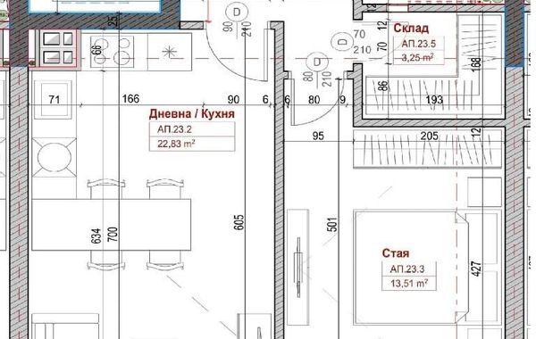 двустаен апартамент софия 92dmu5jv