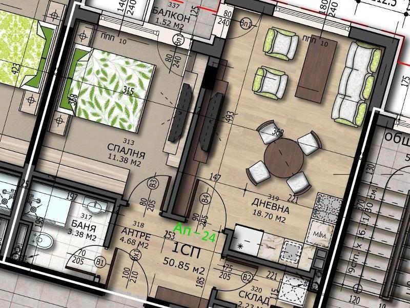 двустаен апартамент софия 96ybg3w8