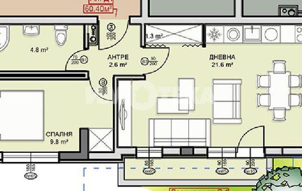 двустаен апартамент софия 991a998e