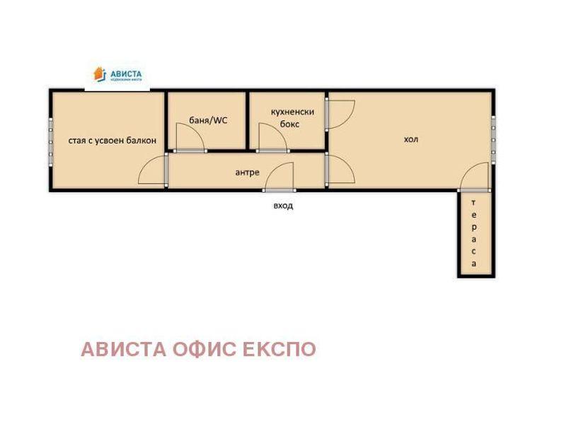 двустаен апартамент софия 9gkp92ds