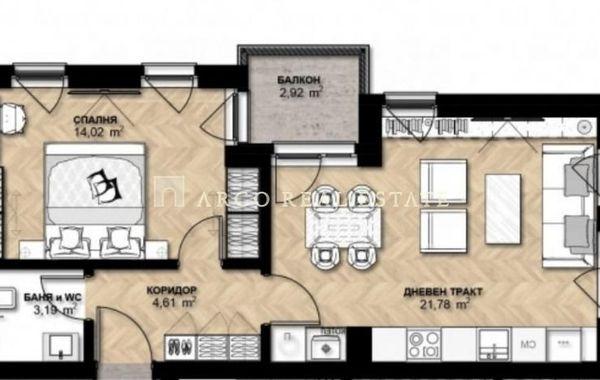 двустаен апартамент софия 9gwlux1s