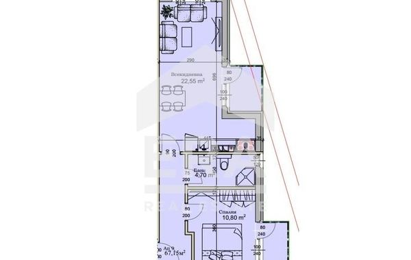 двустаен апартамент софия 9msgf2hw