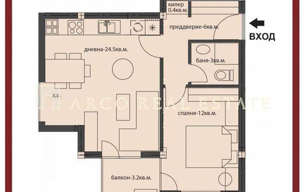 двустаен апартамент софия 9re9fum9