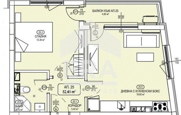 двустаен апартамент софия ajprlr3t