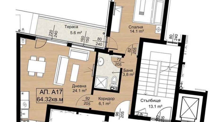 двустаен апартамент софия ak4vcdns
