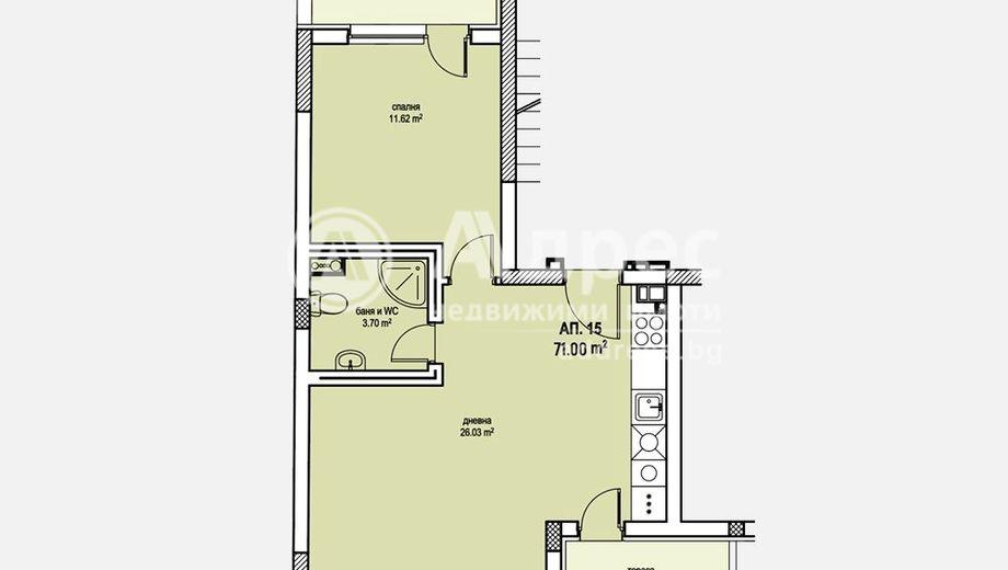двустаен апартамент софия avk2f5wu