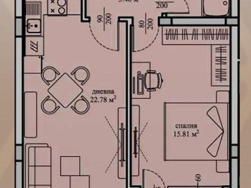 двустаен апартамент софия ax6g2ccv