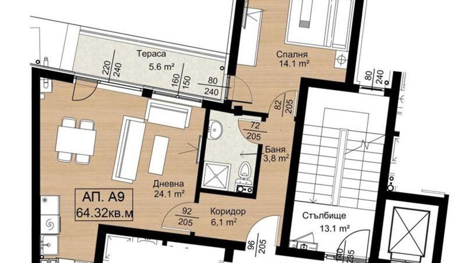 двустаен апартамент софия b6rxvsah