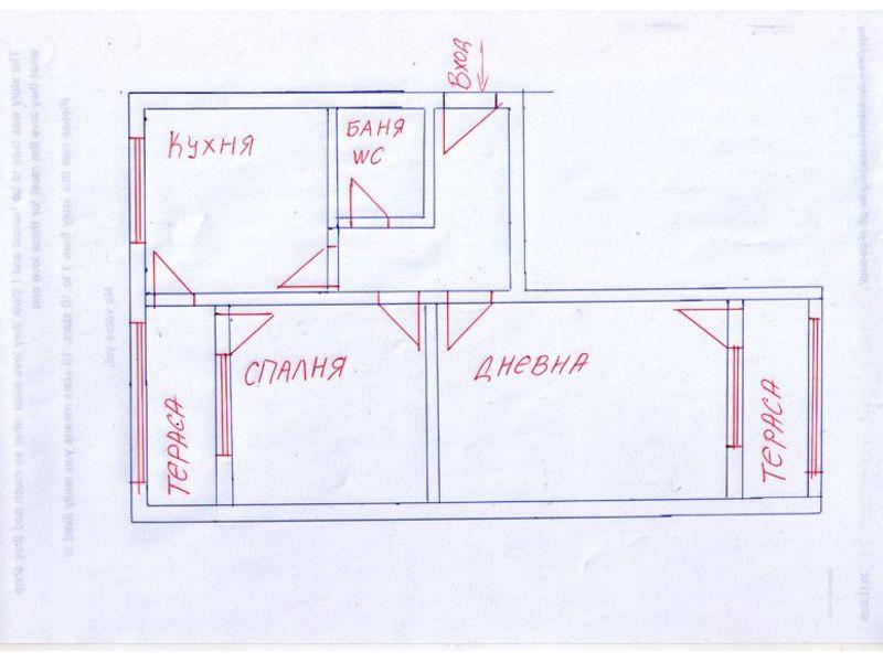 двустаен апартамент софия b8w52phh