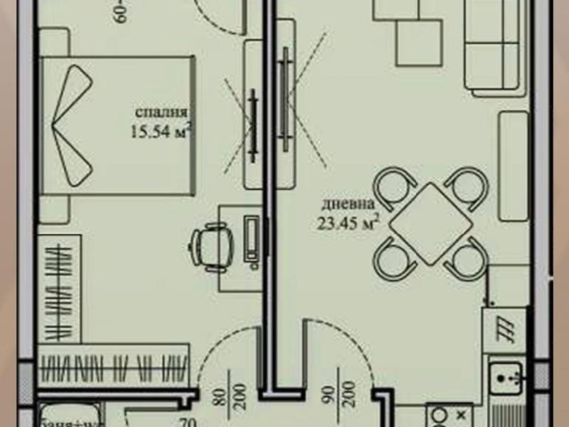 двустаен апартамент софия bbf24e5b