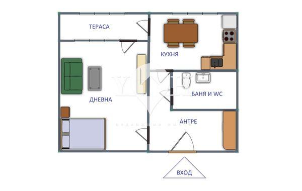 двустаен апартамент софия bpshhce7