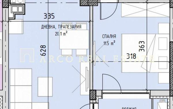 двустаен апартамент софия c1mt4jeu