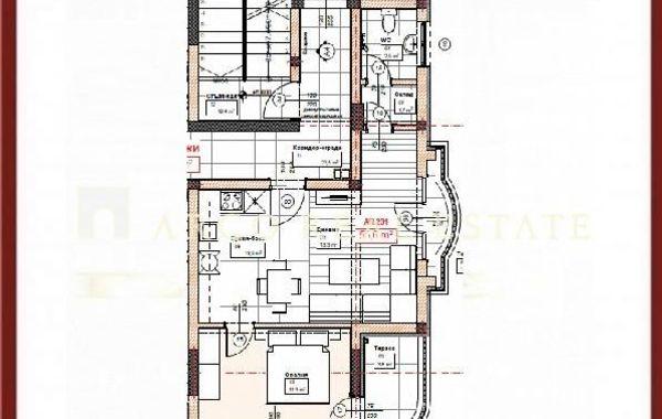 двустаен апартамент софия c22anpdu
