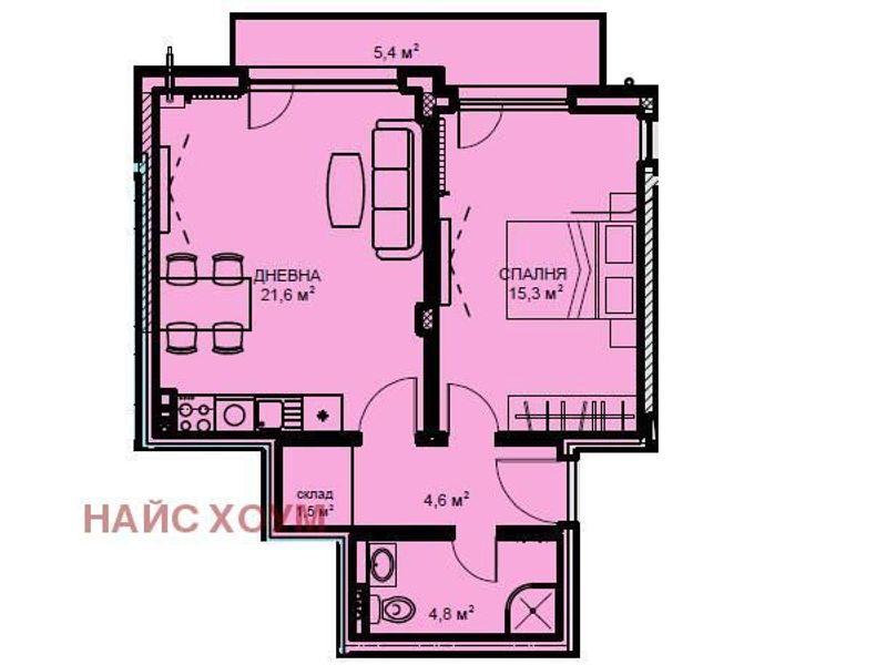 двустаен апартамент софия cbab7xft