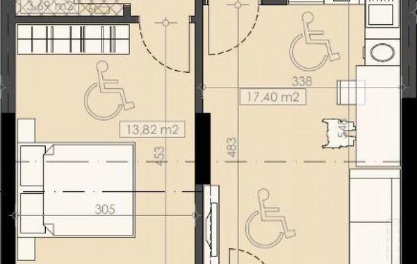 двустаен апартамент софия d2nqjkln