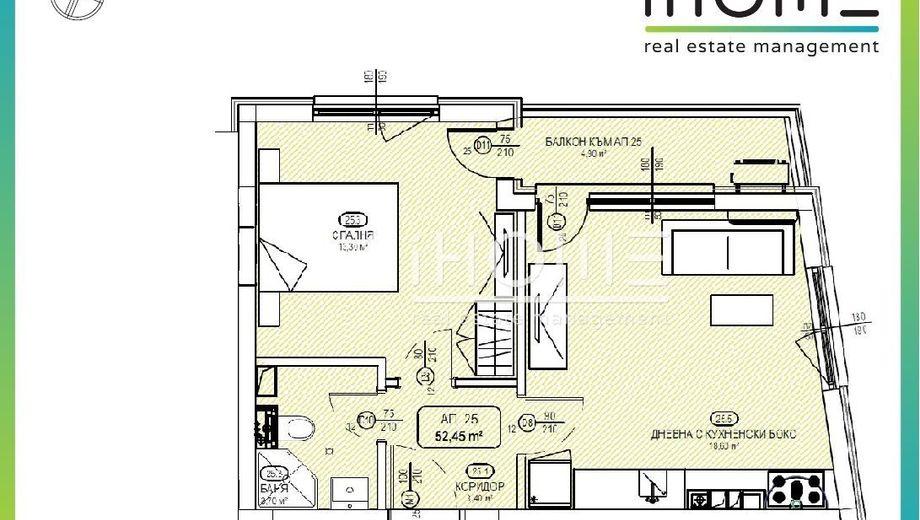 двустаен апартамент софия d71nar4b