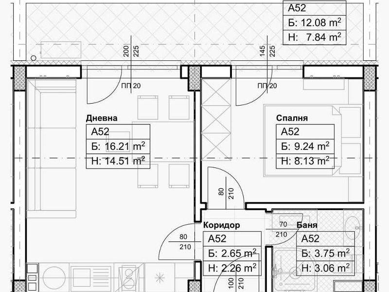 двустаен апартамент софия dft4kqqf