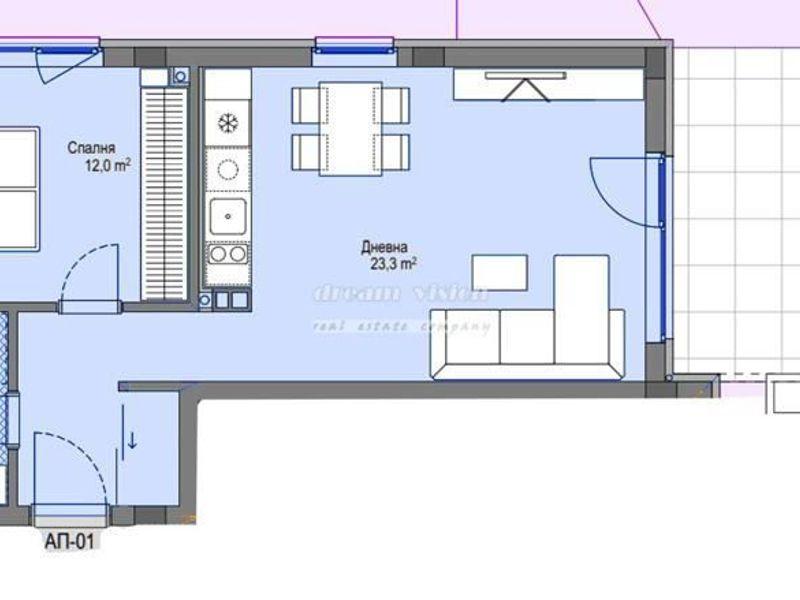двустаен апартамент софия dxpqdfm4