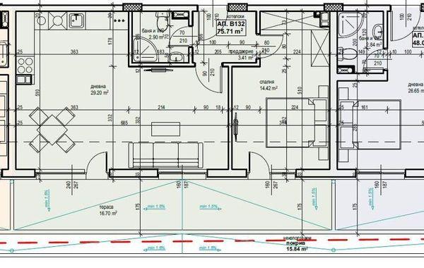 двустаен апартамент софия eau4yma3