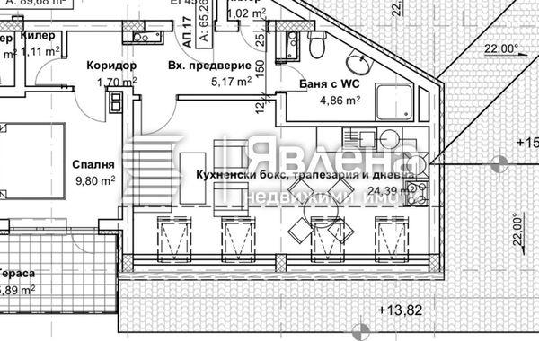 двустаен апартамент софия faterbua