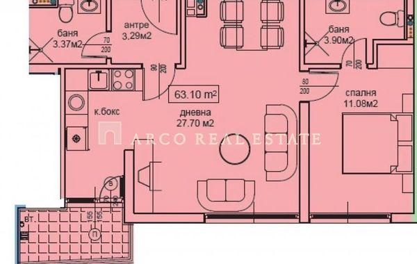 двустаен апартамент софия flvfdj7k