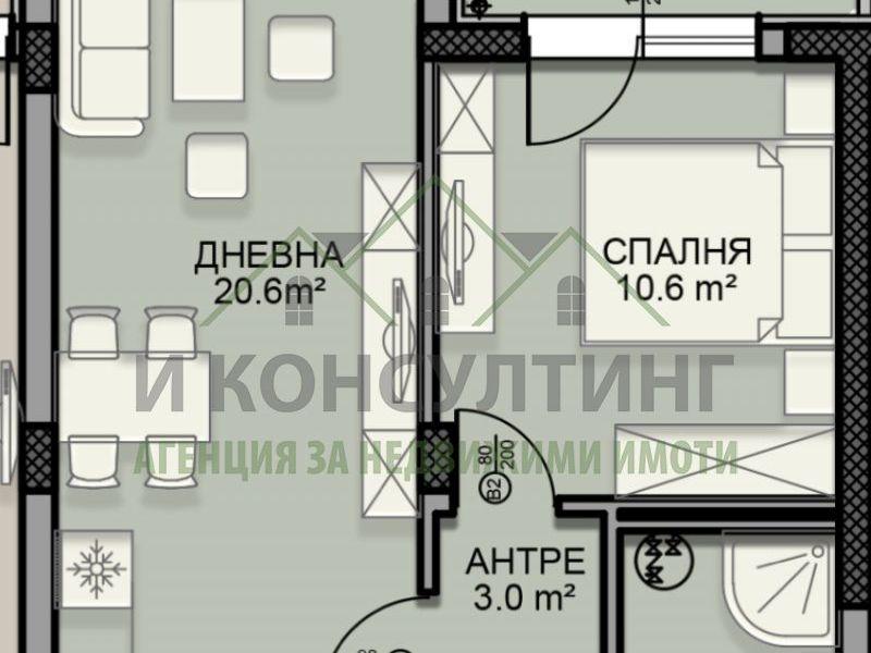 двустаен апартамент софия fsbyv8yl