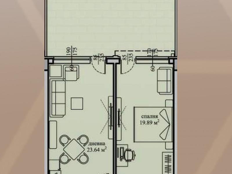 двустаен апартамент софия fx6m7jbs