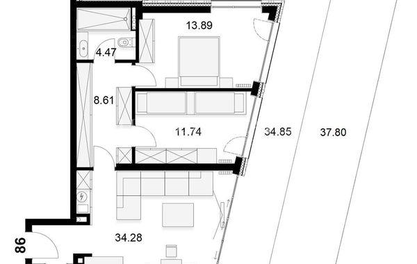 двустаен апартамент софия g744x1wc