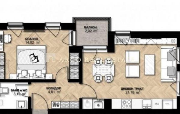двустаен апартамент софия ghbwv3jj