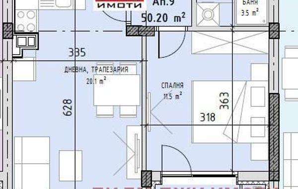 двустаен апартамент софия gn3tsts8