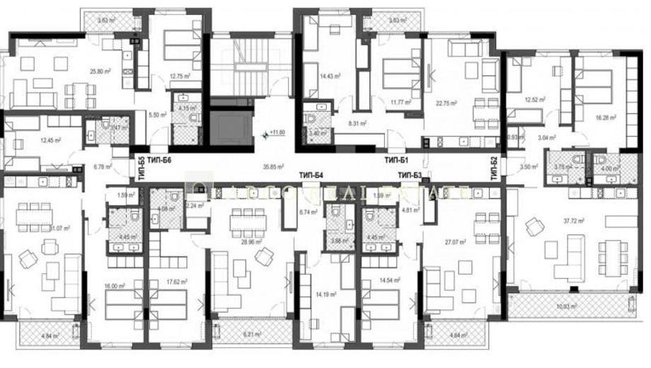 двустаен апартамент софия h7j3xc99